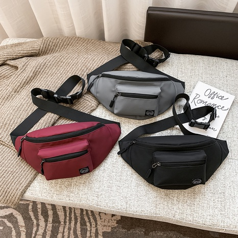 new nylon fashion sports small waist bag NHTG300614's discount tags