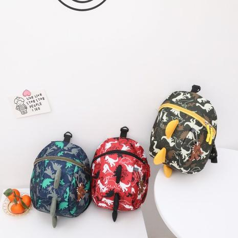 Korean new cute little dinosaur backpack  NHTG300640's discount tags