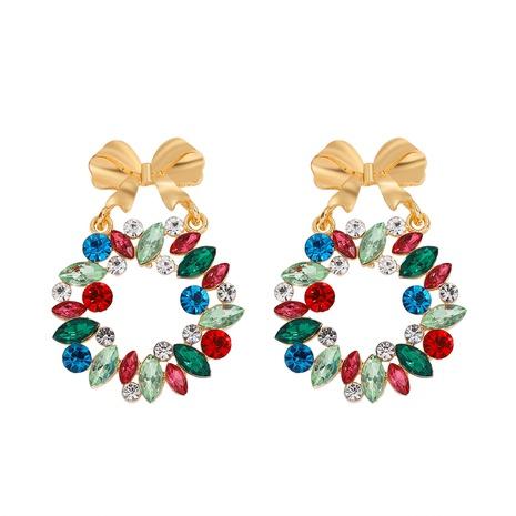 Retro-Ohrringe aus Bowknot-Blumenlegierung NHJQ300799's discount tags
