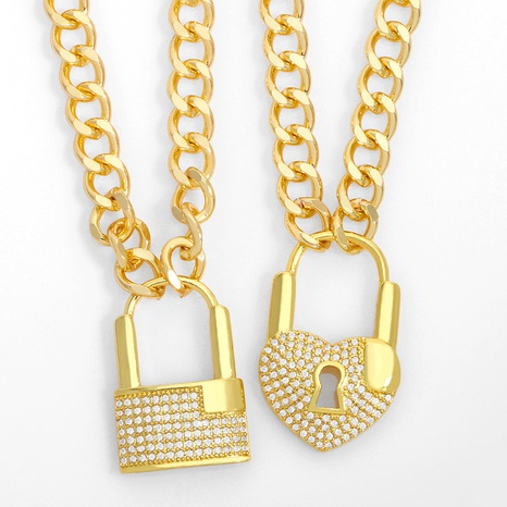collier hip hop boucle OT diamant NHAS300825's discount tags