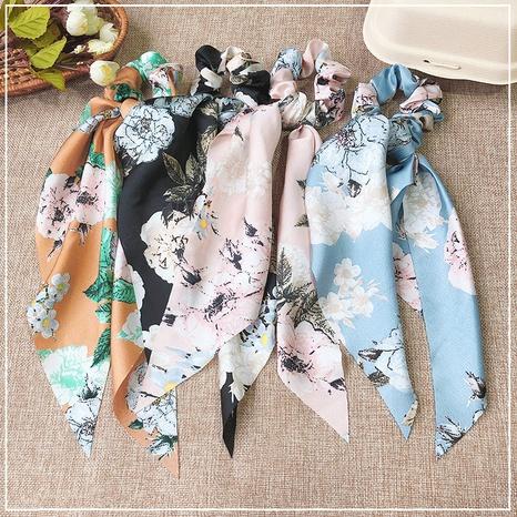 mode simple long ruban fleurs chouchous cheveux NHOF300861's discount tags