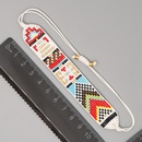 Bhmische Mode Mode handgewebte Perlen bunte geometrische Armband NHGW300909