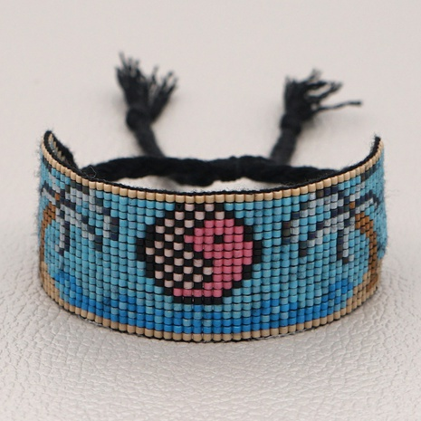 Simple bohemian Miyuki rice beads bracelet  NHGW300910's discount tags