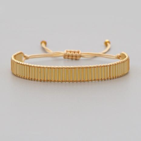 Einfaches goldenes Armband im böhmischen Nationalstil NHGW300918's discount tags