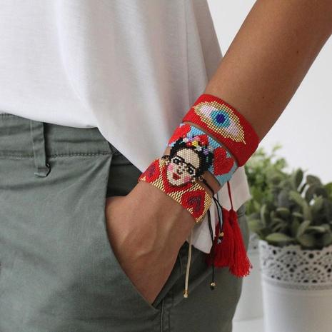 ethnic Turkish blue eyes wild love bracelet NHGW300934's discount tags