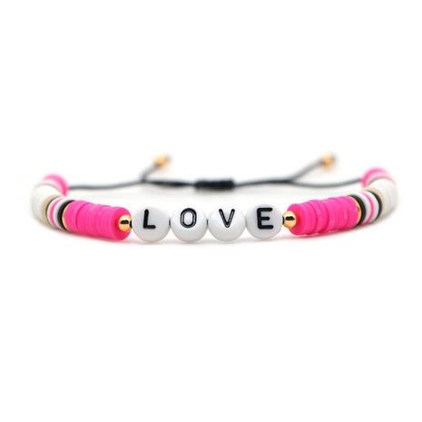 Simple Bohemian Bracelet love Letter Bracelet NHGW300938's discount tags