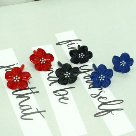 Retro Perlenblumenohrringe NHGO301023's discount tags