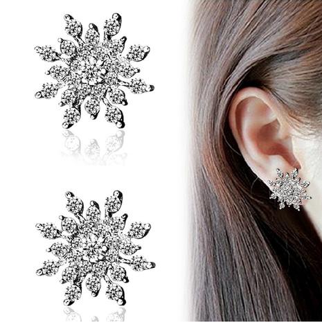 Rhinestone Bright Diamond Snow Stud Earrings NHDP301148's discount tags