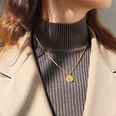 NHOK1365440-Golden-necklace-42+5cm
