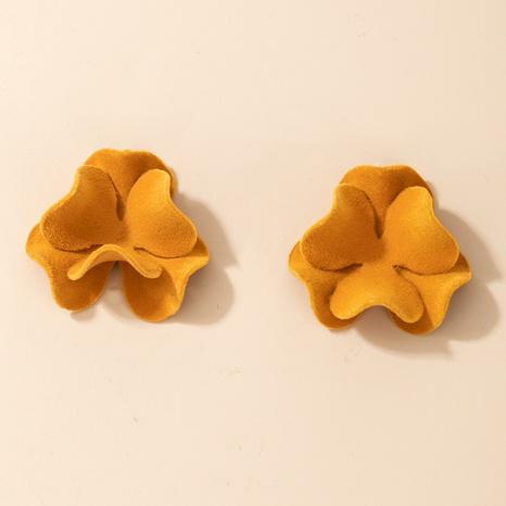 Mode einfache Blumenohrringe NHGY301769's discount tags
