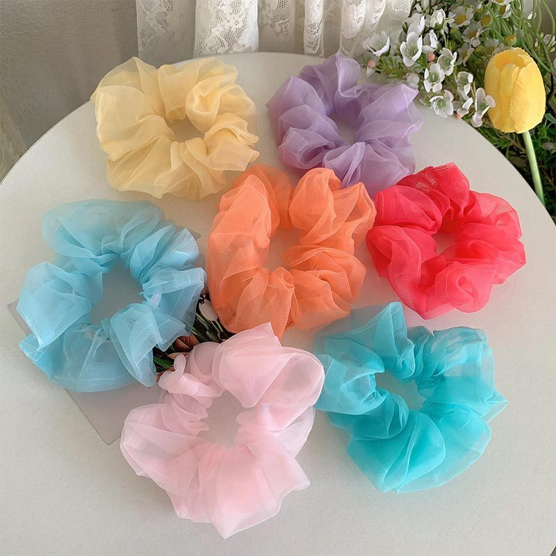 fashion simple hair scrunchies NHGE301185