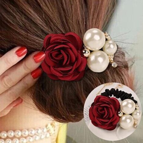 Perle Rose Haarseil NHGE301201's discount tags