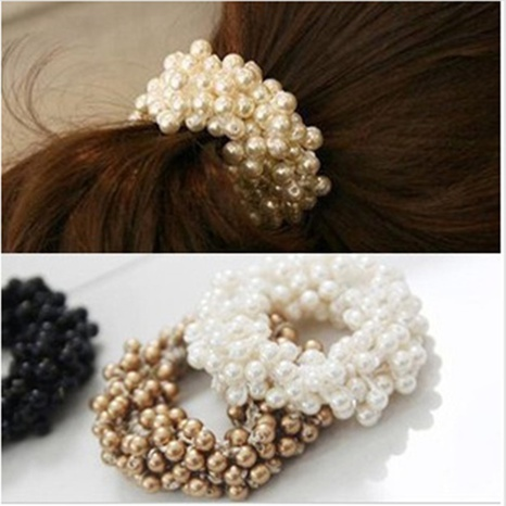 beaded hair rope wholesale  NHGE301207's discount tags