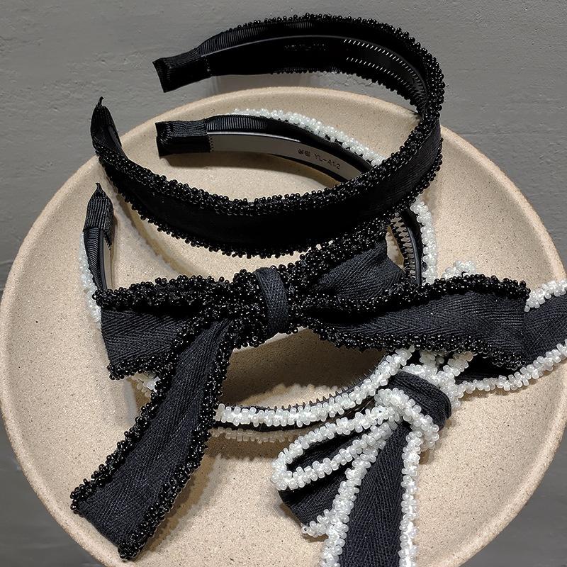 Koreas new retro bow simple headband  NHAR301329