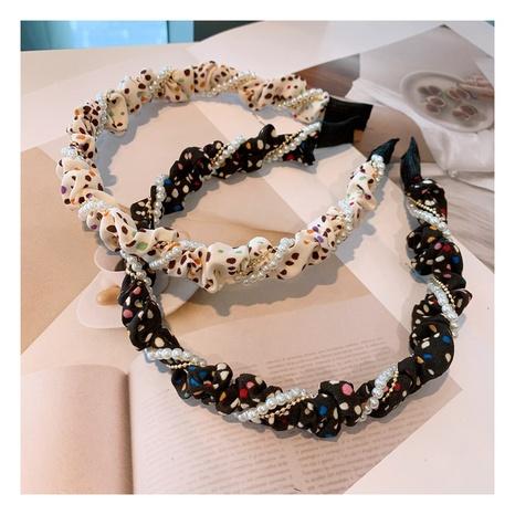 Diadema de perlas coreanas NHHD301395's discount tags