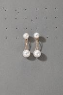 fashion pearl stud earrings  NHGY301748