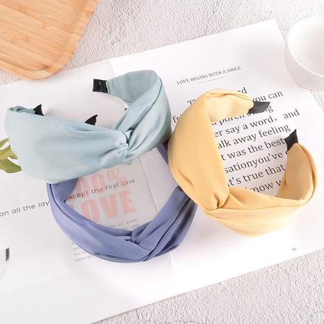 Korean cross fabric headband  NHAQ301465's discount tags
