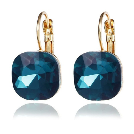 micro-inlaid square diamond earrings NHPF301562's discount tags