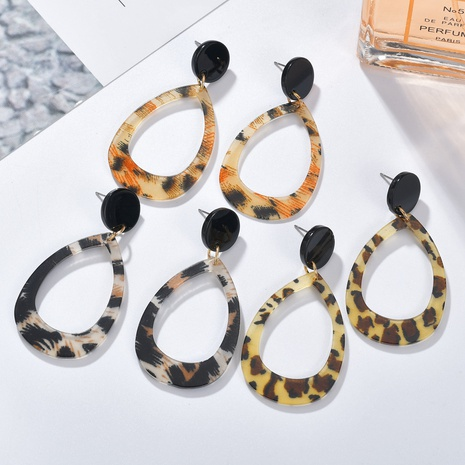 fashion drop-shaped earrings  NHBQ301571's discount tags