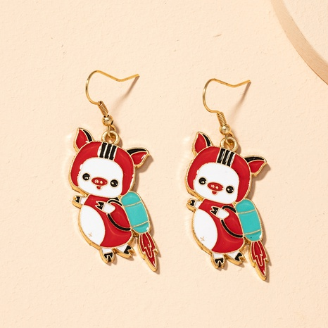 cute flying piggy earrings  NHAI301585's discount tags