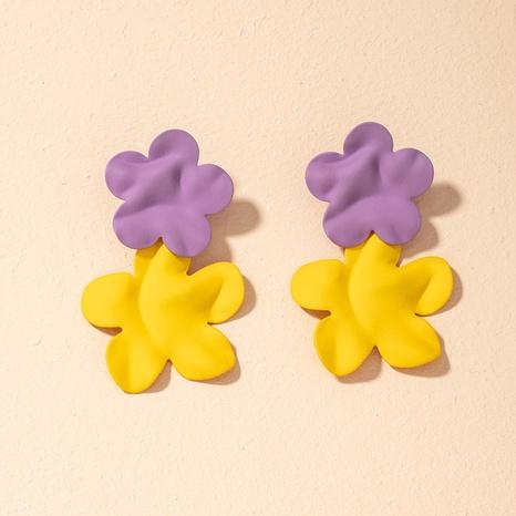 Mode Blumenohrringe NHAI301588's discount tags