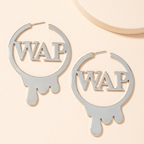 new exaggerated irregular earrings  NHAI301608's discount tags
