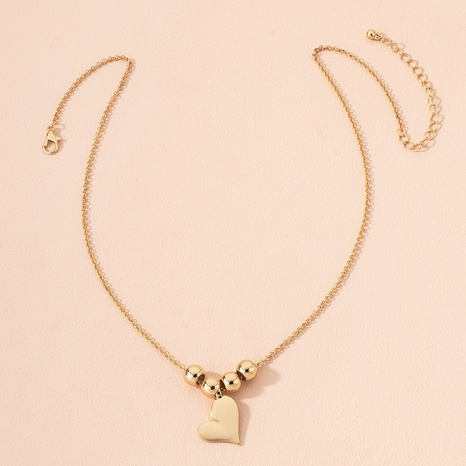 fashion heart pendant necklace  NHAI301612's discount tags