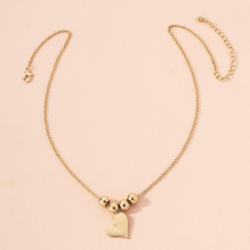fashion heart pendant necklace  NHAI301612