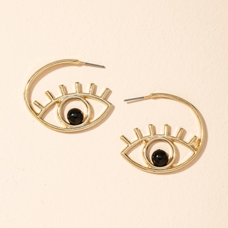 new exaggerated eyes earrings  NHAI301621's discount tags