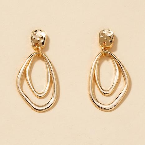 fashion irregular alloy earrings  NHGU301653's discount tags