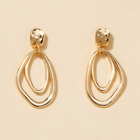 fashion irregular alloy earrings  NHGU301653's discount tags