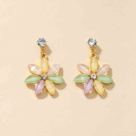 fashion flower pendant earrings  NHGU301665's discount tags