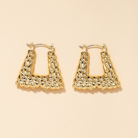 metal geometric earrings  NHGU301670's discount tags