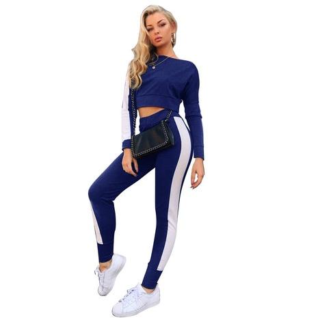 nouveau costume de loisirs de sport assorti à capuche slim-fit sexy NHIS301713's discount tags