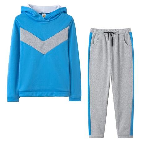 nouveau costume de pull à capuche en molleton de loisirs de mode NHIS301695's discount tags