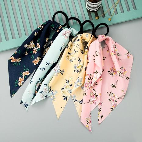 chiffon fabric printing ribbon bow hair rope NHLN290538's discount tags