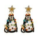 alloy diamondstudded fashion earrings NHLN290545