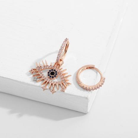 devil eyes asymmetric earrings  NHJQ290557's discount tags