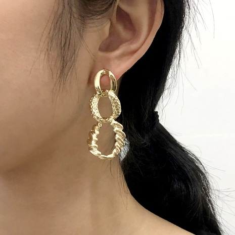 chain element earrings NHMD290573's discount tags
