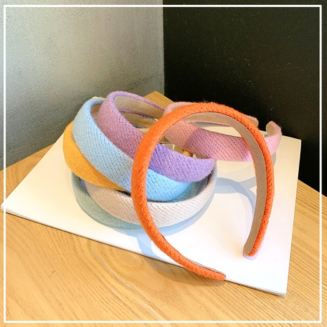 simple candy color headband  NHOF290585's discount tags