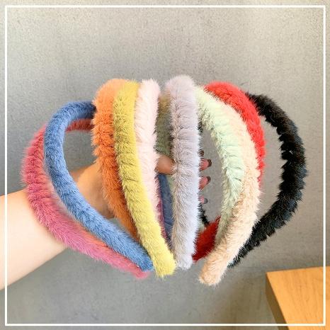 plush fashion headband NHOF290587's discount tags