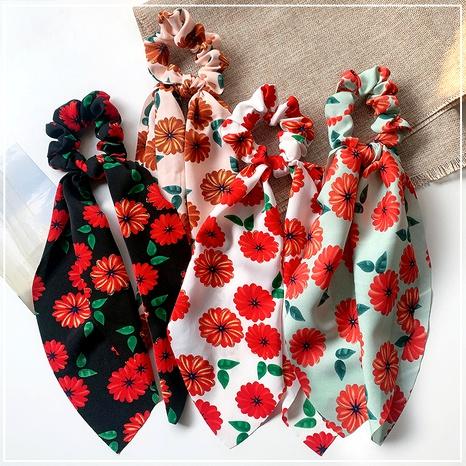 gomas para el pelo de tela floral dulce NHOF290592's discount tags