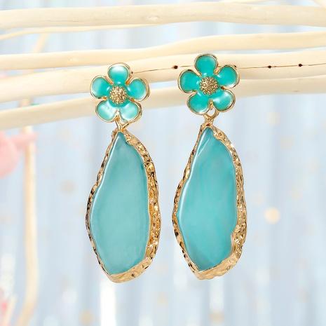 irregular retro flower earrings NHGO290657's discount tags