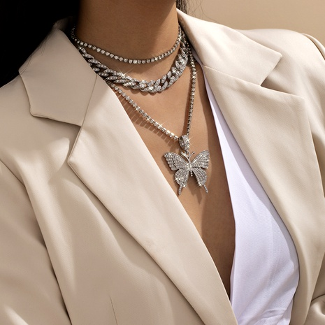 Cuban chain necklace NHXR290764's discount tags