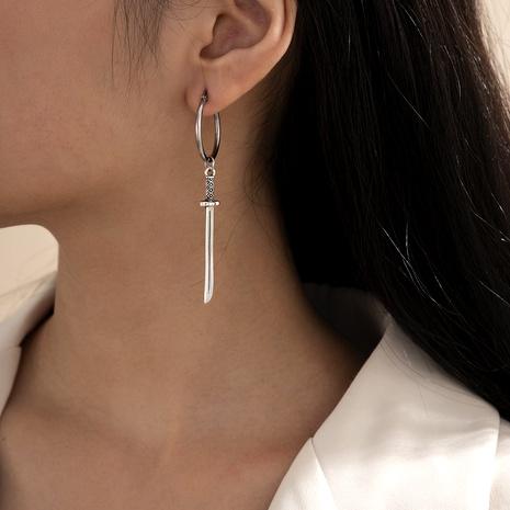 long sword handle earrings NHXR290787's discount tags