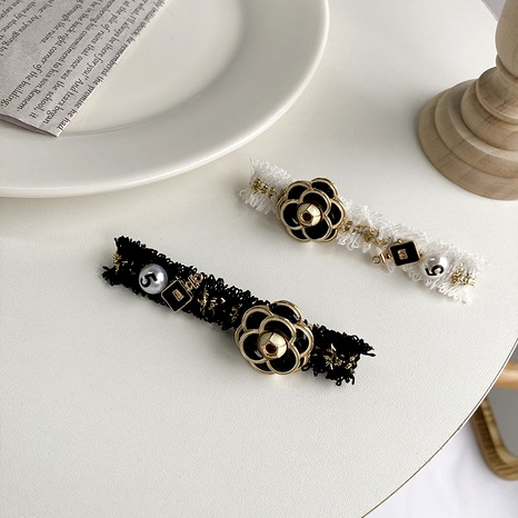stitching knitted hairpin  NHWF290853's discount tags
