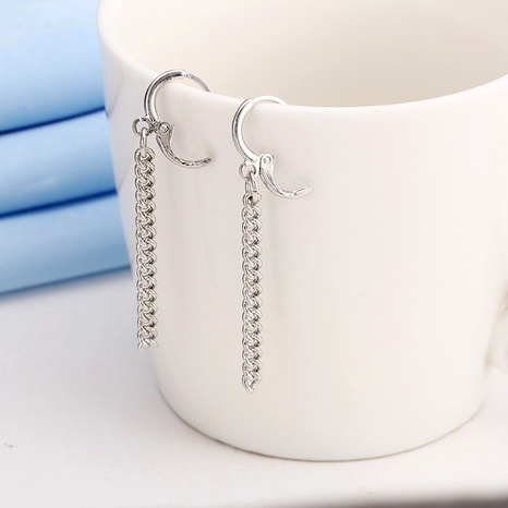 simple fashion long earrings  NHPF290903's discount tags