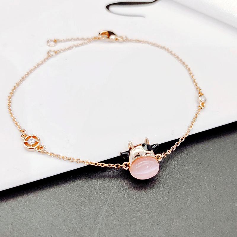 simple opal zodiac ox bracelet NHLJ290907