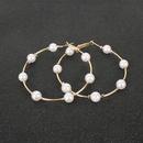 pearl fashion earrings NHCT290925