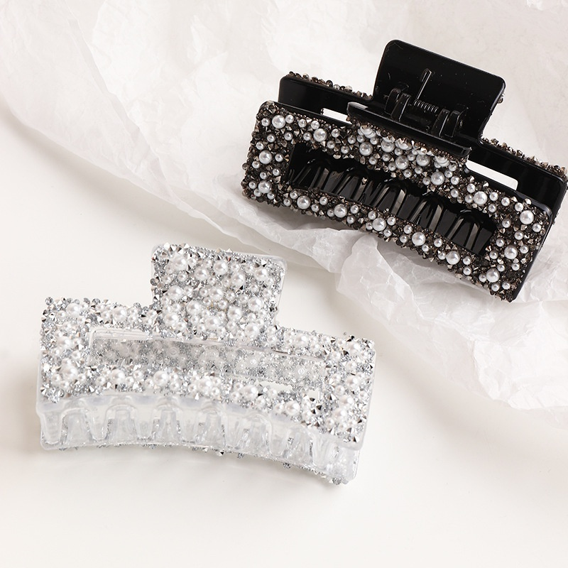 crystal pearl catch clip NHAU301816